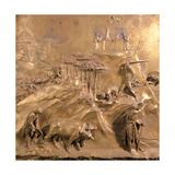 Kain og Abel Kunst af Lorenzo Ghiberti