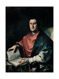 Portrait of Girolamo Baruffaldi Poster by Giuseppe Antonio Ghedini