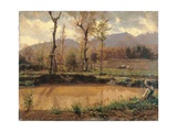 Landscape After the Rain Giclee Print by Filippo Palizzi