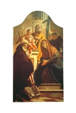 St. Joseph with Christ Child and Sts. Francis, Anna, Anthony & Peter Prints by Giambattista Tiepolo