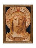 Volto Santo (Holy Face) Giclee-tryk i høj kvalitet af Benozzo Gozzoli