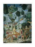Journey of the Magi Giclee Print by Benozzo Gozzoli