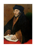 Erasmus of Rotterdam Print by Hans Holbein the Younger