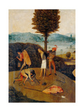 Tryptych of Hay, The Journey of Life Giclee Print by Hieronymus Bosch