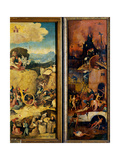 Tryptych of Hay, (Half view, open, right) Giclee Print by Hieronymus Bosch
