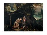 Retreat with Hermit Posters by Jan Brueghel the Elder