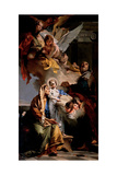 Education of the Virgin Mary Poster by Tiepolo Giambattista