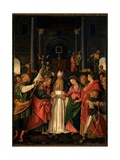 Marriage of the Virgin, by Gaudenzio Ferrari, 16th c. Como, Italy Giclée-tryk af Gaudenzio Ferrari