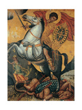 St. George and the Dragon Plakaty autor ,  Mercorio