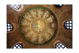 Mosaic in the Dome of the Arian Baptistery, 6th c. Ravenna, Italy Posters