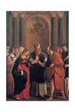 Marriage of the Virgin Mary Prints by Bartolomeo Gennari