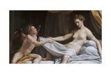 Jupiter and Diana Prints by  Correggio