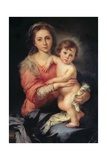 Madonna and Child, Bartolomo Esteban Murillo, 1650-1655, Palazzo Pitti, Florence, Italy Prints by Bartolomo Esteban Murillo