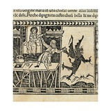 Miracles of the Glorious Virgin Mary, 1500. Woodcut, Florence, Italy Prints
