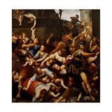 Annunciation Kunstdruck von Antonio Verrio