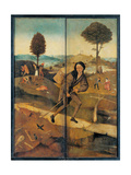 Tryptych of Hay, The Journey of Life, Closed view Giclee Print by Hieronymus Bosch