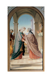 Visitation Posters by Friedrich Overbeck