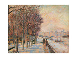La Place Valhubert, Paris Prints by Jean-Baptiste-Armand Guillaumin