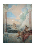 Thetis Consoling Achilles Poster by Tiepolo Giambattista