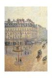 Avenue de L'Opera. Snow Effect. Morning Posters par Camille Pissarro