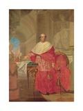Portrait of Cardinal Andrea Archetti Art by Giuseppe Pirovani