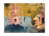 Garden of Earthly Delights-The Earthly Paradise Kunstdrucke von Hieronymus Bosch
