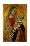 Madonna with Child Art by Ambrogio Lorenzetti