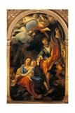 Madonna della Scodella (Rest During the Flight to Egypt) Prints by  Correggio