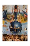 Garden of Earthly Delights,(Martyrs & Angels) by Hieronymus Bosch, c. 1503-04. Prado. Detail. Kunst von Hieronymus Bosch