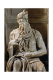 Moses, Tomb of Giulio II Prints by  Michelangelo