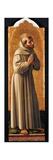 Cagli Polyptych, St. Francis Prints by l'Alunno di Liberatore