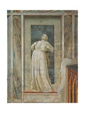 Virtues and Vices, Wrath Giclee Print by  Giotto