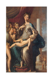 Madonna with the Long Neck Posters by  Parmigianino