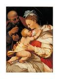 Holy Family Poster by Perin del Vaga Bonaccorsi
