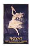 Poster for Royat Affischer av Leonetto Cappiello