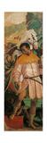 Adoration of the Magi, detail of African Plakat af Gaudenzio Ferrari