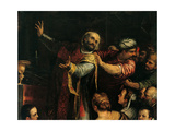 St. Mark Attacked by the Turks during the Mass Giclee Print by Alessandro Maganza