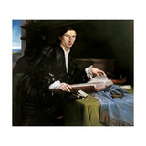 Portrait of a Gentleman in his Study Posters by Lorenzo Lotto