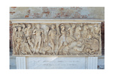Sarcophagus with the Myth of Phaedra and Hippolytus, 3nd Century A.D. Uffizi Gallery, Florence Prints
