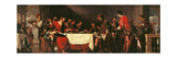 Banquet at St. Simons Home Prints by Bernardo Strozzi