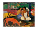 Arara (Jokes) Giclee Print by Paul Gauguin