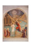 Taufe Christi Poster von  Beato Angelico