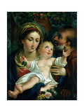 Holy Family, Saverio dalla Rosa, 19th c. Italy Posters by Saverio dalla Rosa