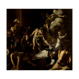 Martyrdom of St. Matthew Giclee Print by  Caravaggio