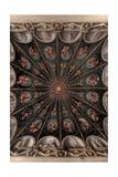 Frescoes in the Camera della Badessa Poster by  Correggio