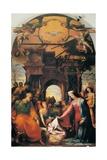 Jesu fødsel Posters af Domenico Beccafumi