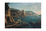View of the Neapolitan Coast Poster von Gaspar van Wittel