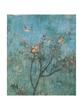 Summer Triclinium: Garden Paintings, 20 A.D. Detail. Ancient Roman painting. Palazzo Massimo, Rome Giclee Print