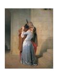 Kys Poster af Francesco Hayez