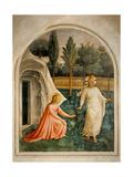 Noli me tangere (touch me not) Kunstdruck von  Beato Angelico